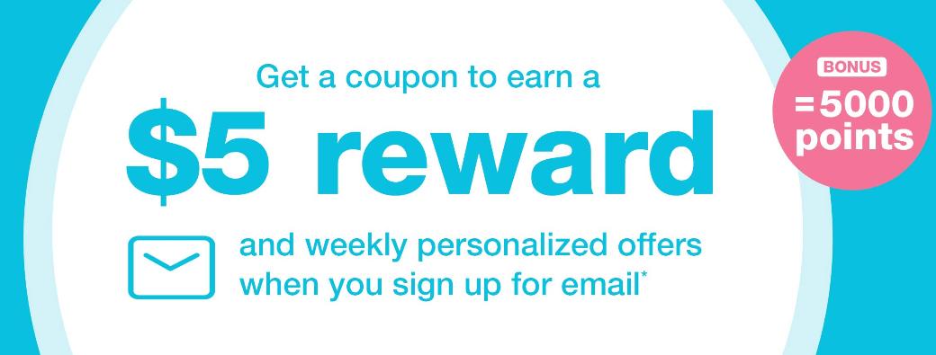 FREE  Walgreen's Reward