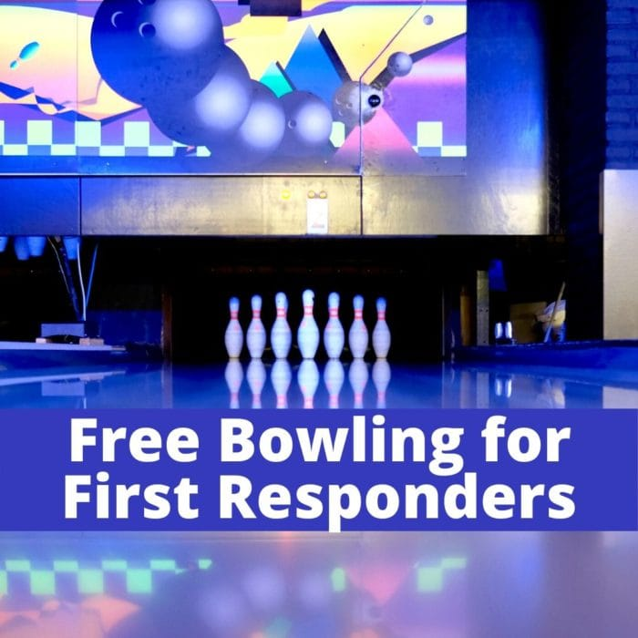 FREE Bowling at AMF Lanes for First Responders