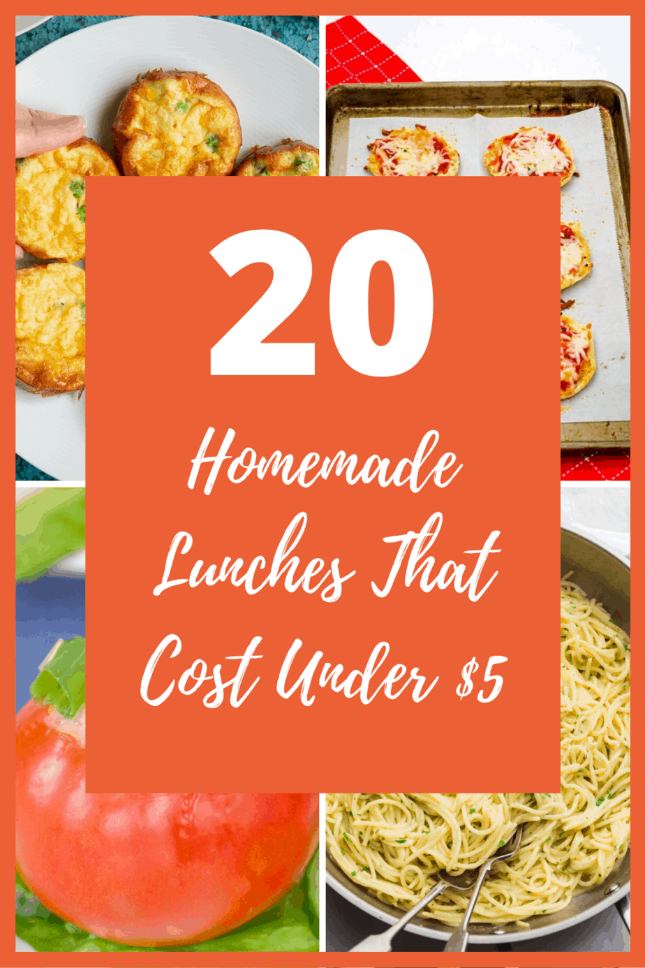 20 Lunches That Cost Under  to Make
