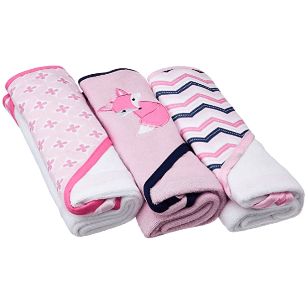Luvable Friends Unisex Baby Cotton Terry Hooded Towels Now .67 (Was .99)