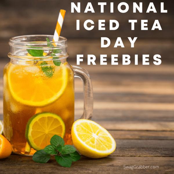National tea day freebies