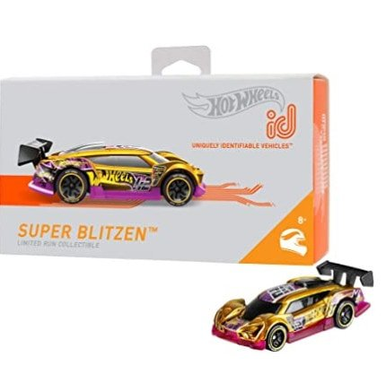 Hot Wheels id Time Attaxi Cars Now .92 (Was .99)