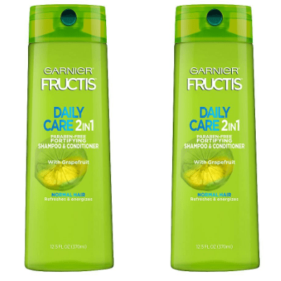 2 Bottles of Garnier Fructis 2-in-1 Shampoo and Conditioner ONLY .98