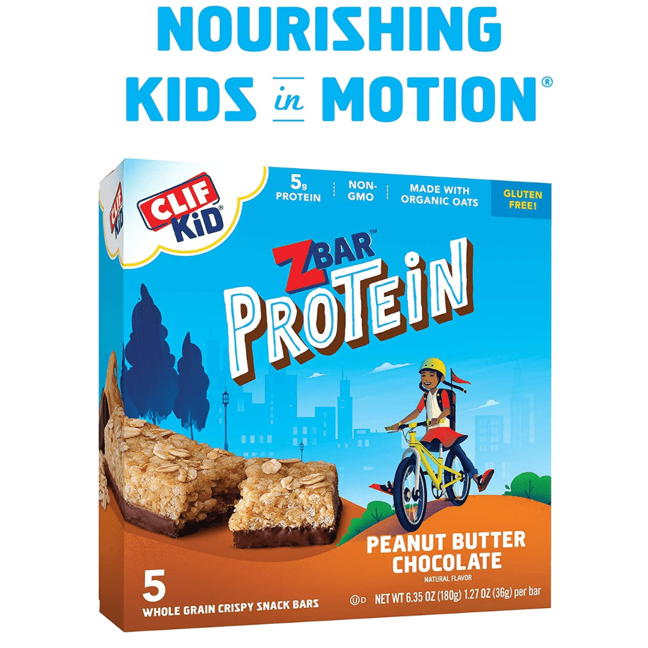 CLIF Kid ZBAR Protein Bars 5-Pack Now .32 **Only 46¢ Per Bar**