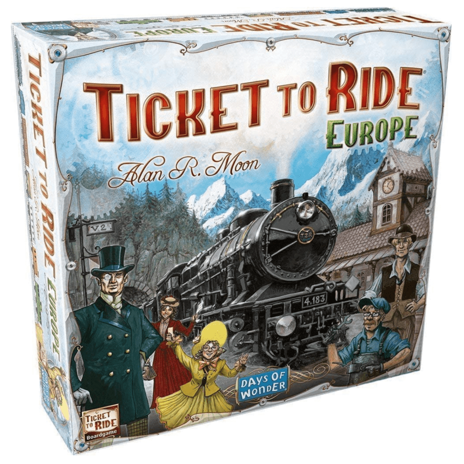 Ticket To Ride Europe Now