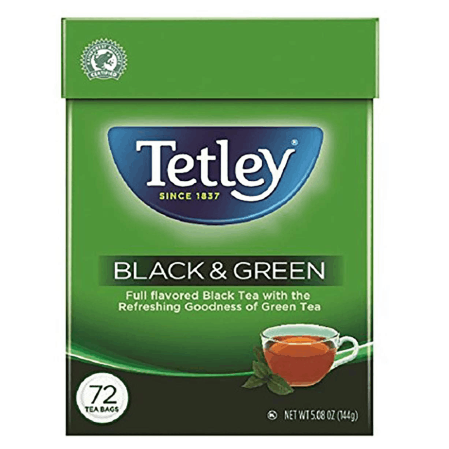 Tetley Tea Bags Black and Green 72-Count Now .83 (Was .92)