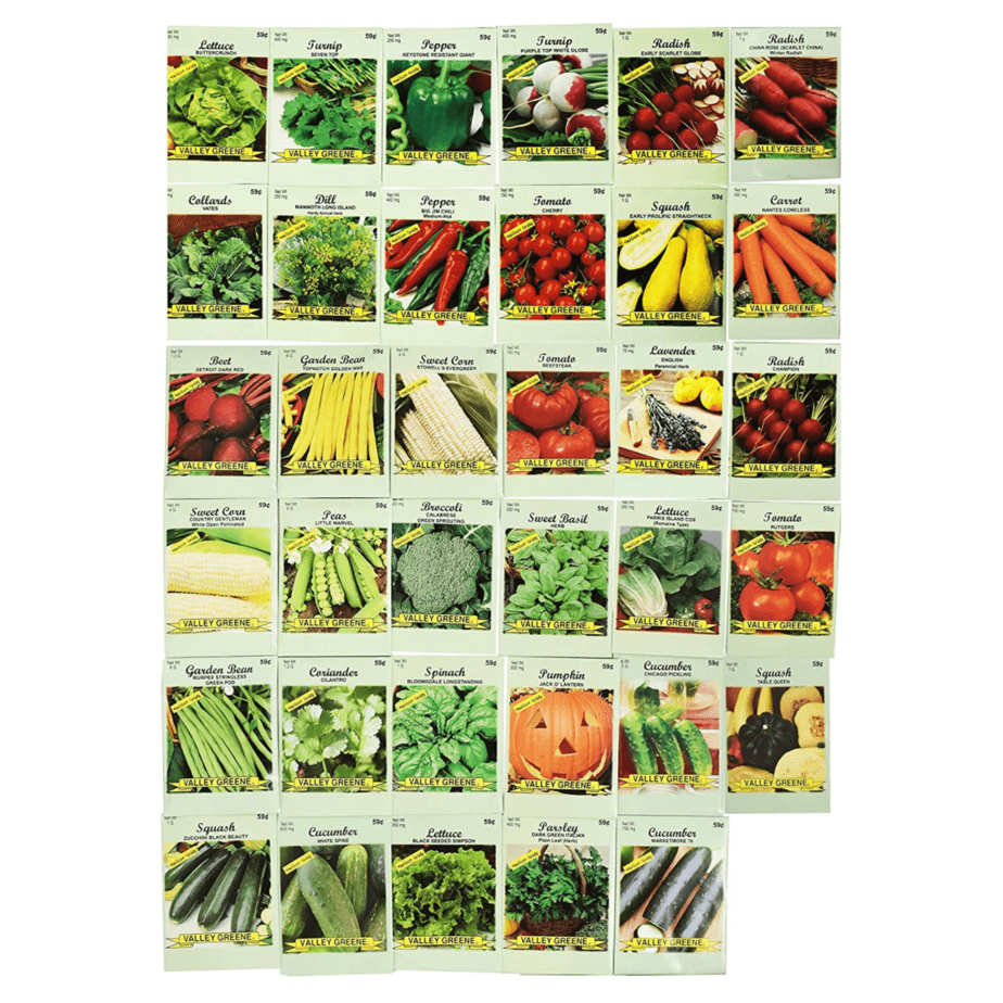 Set of 35 Assorted Vegetable & Herb Seeds Now .99 (Was .99)