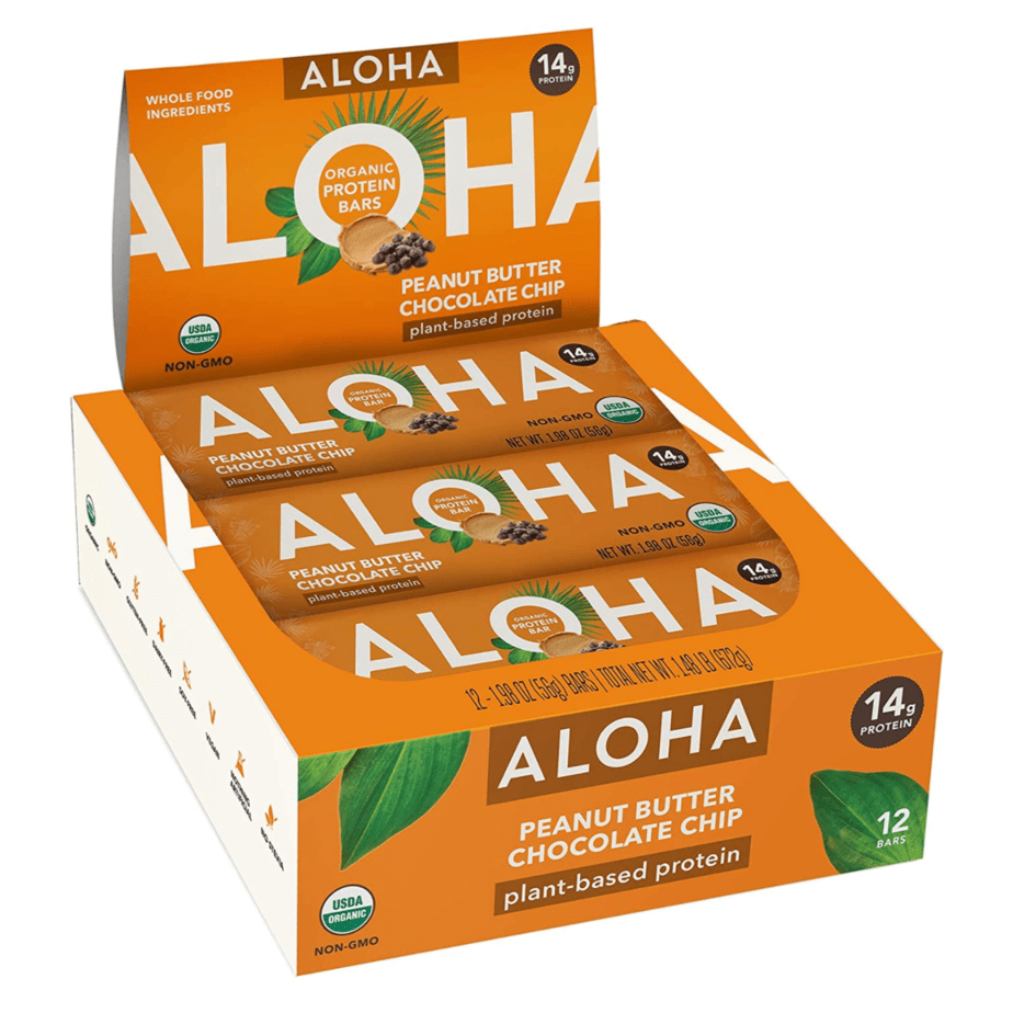 ALOHA Organic Plant Based Protein Bars 12-Count Now .62 (Was .99)