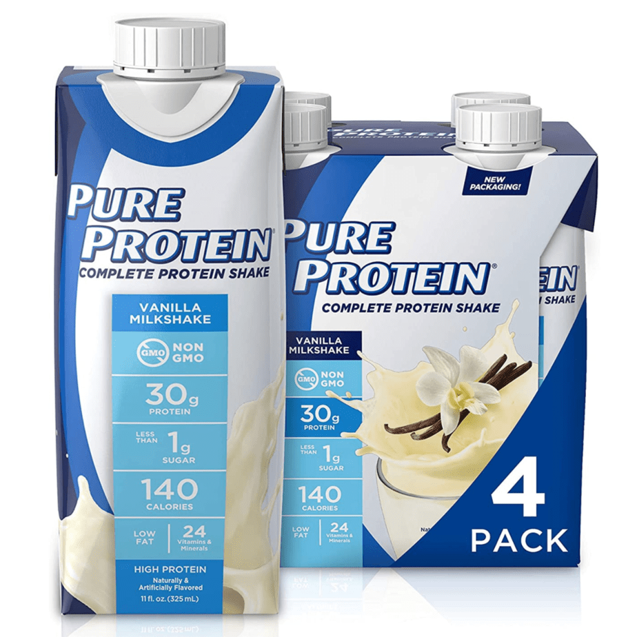 Pure Protein Shakes 4-Pack Now .89 Shipped **Only .22 Per Shake**