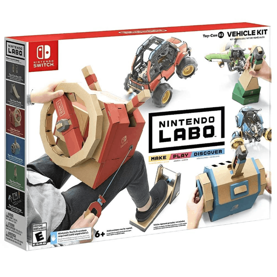Nintendo Labo Toy-Con 03 Vehicle Kit for Switch Now .99 (Was .99)