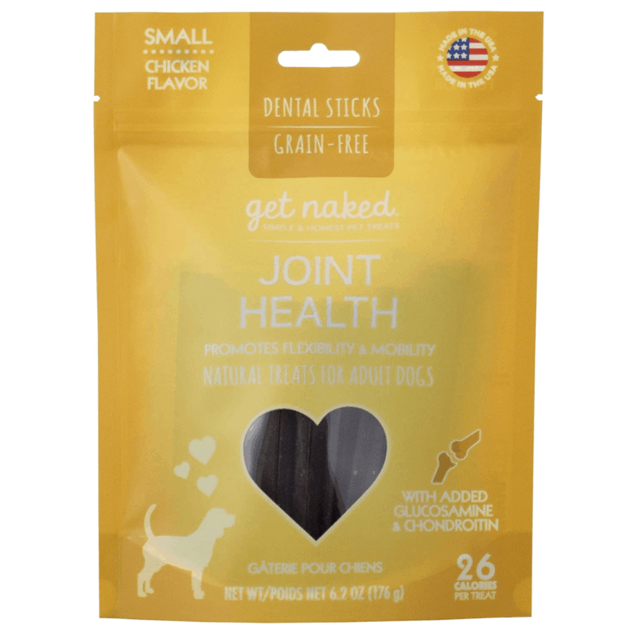 Get Naked Grain Free Dental Chew Sticks Now .43 (Was .99) + MORE