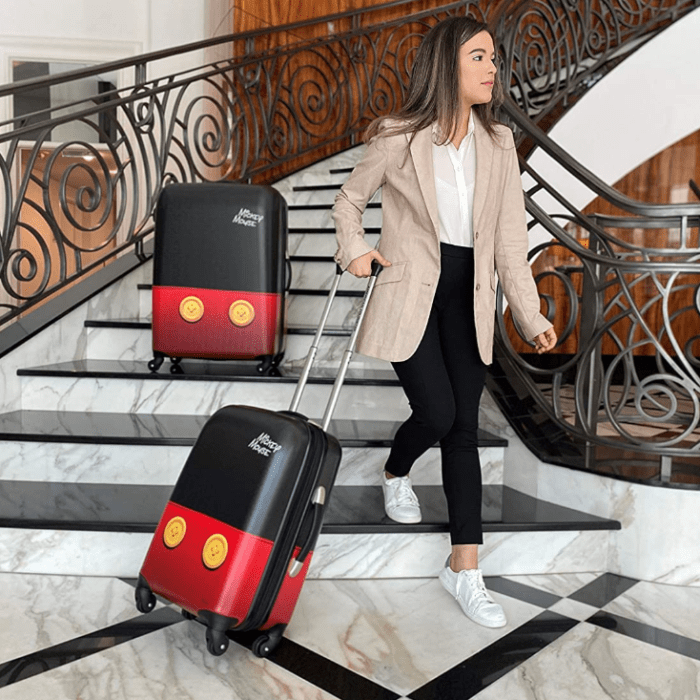 2 Piece American Tourister Disney Hardside Luggage Set Now 50% Off