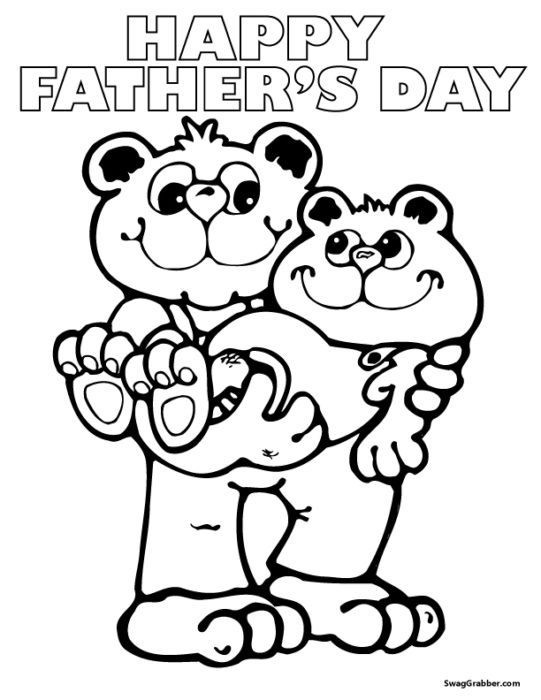 Free Printable Father's Day Coloring Pages for Kids