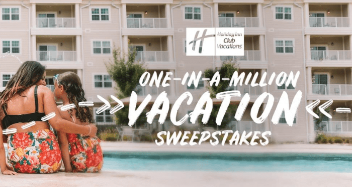 Holiday Inn 'One in a Million' Sweepstakes
