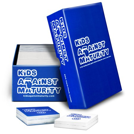 Kids Against Maturity: A Card Game for Kids, Super Fun Hilarious for Family Party Game Night