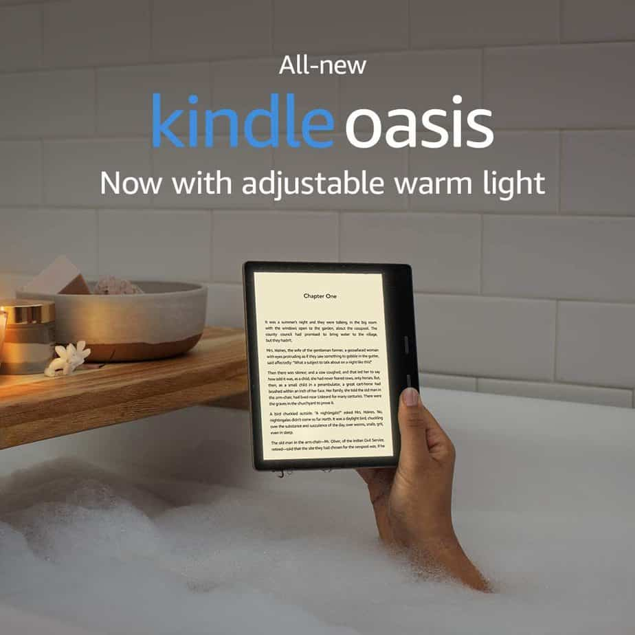 Enter to Win a Kindle Oasis Worth 0