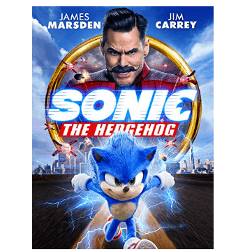 Sonic The Hedgehog Movie Rental ONLY .99
