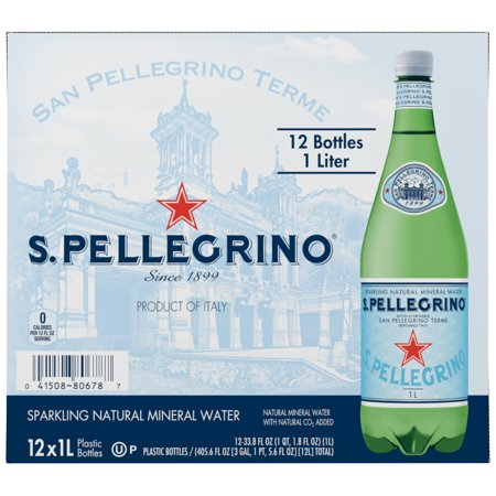 24 Pack of S.Pellegrino Sparkling Natural Mineral Water Now $10.80