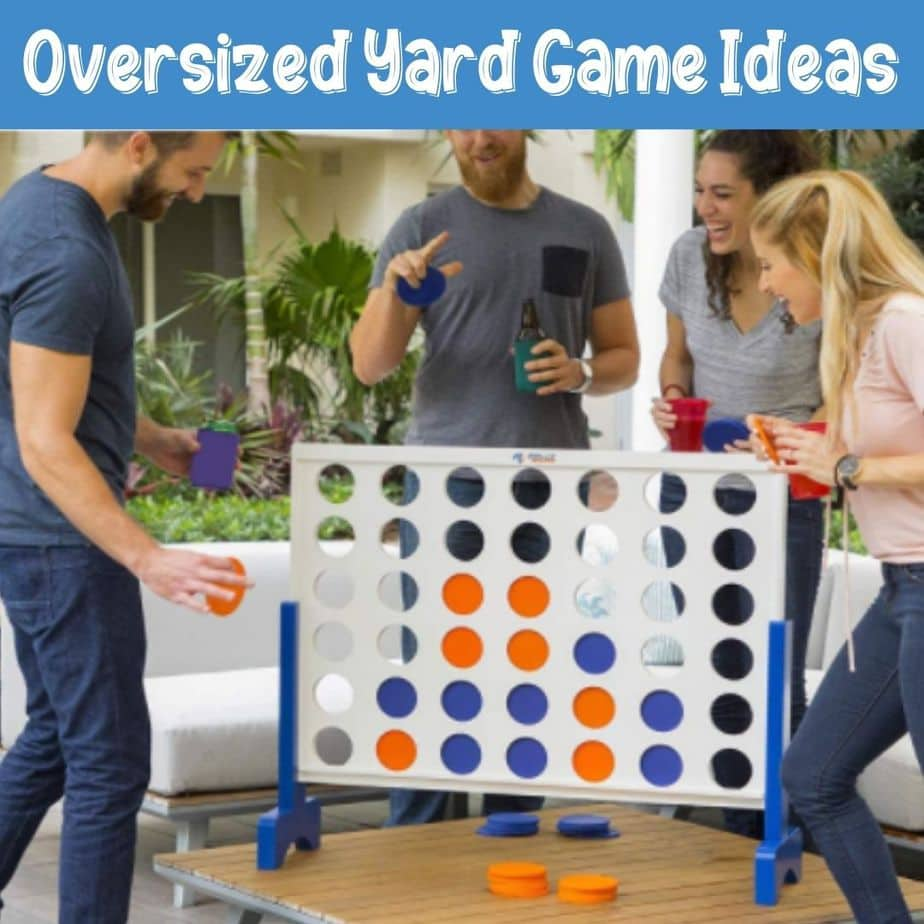 Oversized Yard Game Ideas