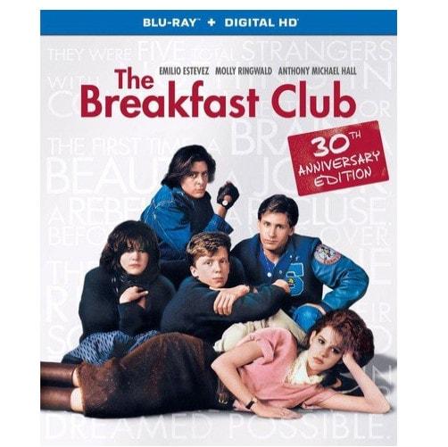 The Breakfast Club Blu-ray Now .99 (Was .98)