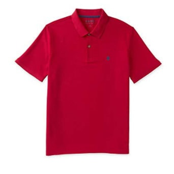 IZOD Men's Big and Tall Performance Solid Polo Now .70 (Was )