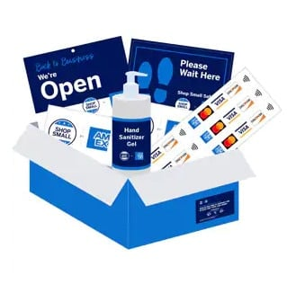 FREE American Express 'Open for Business Kit' for Businesses