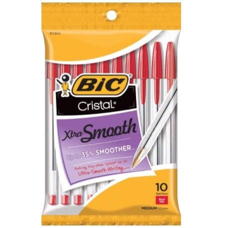 BIC Cristal Xtra Smooth Ballpoint Pen Now <img src=