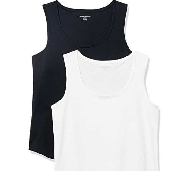 Amazon Essentials Women's 2-Pack Sleeveless Tanks Now .50 (Was .35)