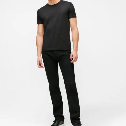 7 For All Mankind Mens Annex Black Jeans ONLY  Shipped (Was 9)