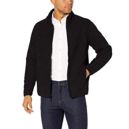 Amazon Essentials Men's Sherpa Fleece Full-Zip Jacket Now .90 (Was )