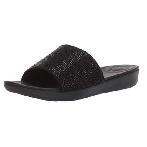 FitFlop Women's SOLA CRYSTALLED Slide Sandal Now .93 (Was 0)