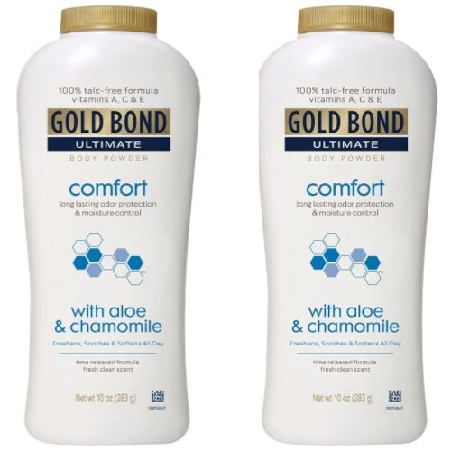 Gold Bond Ultimate Comfort Body Powder Aloe 10 oz Now .60 Each