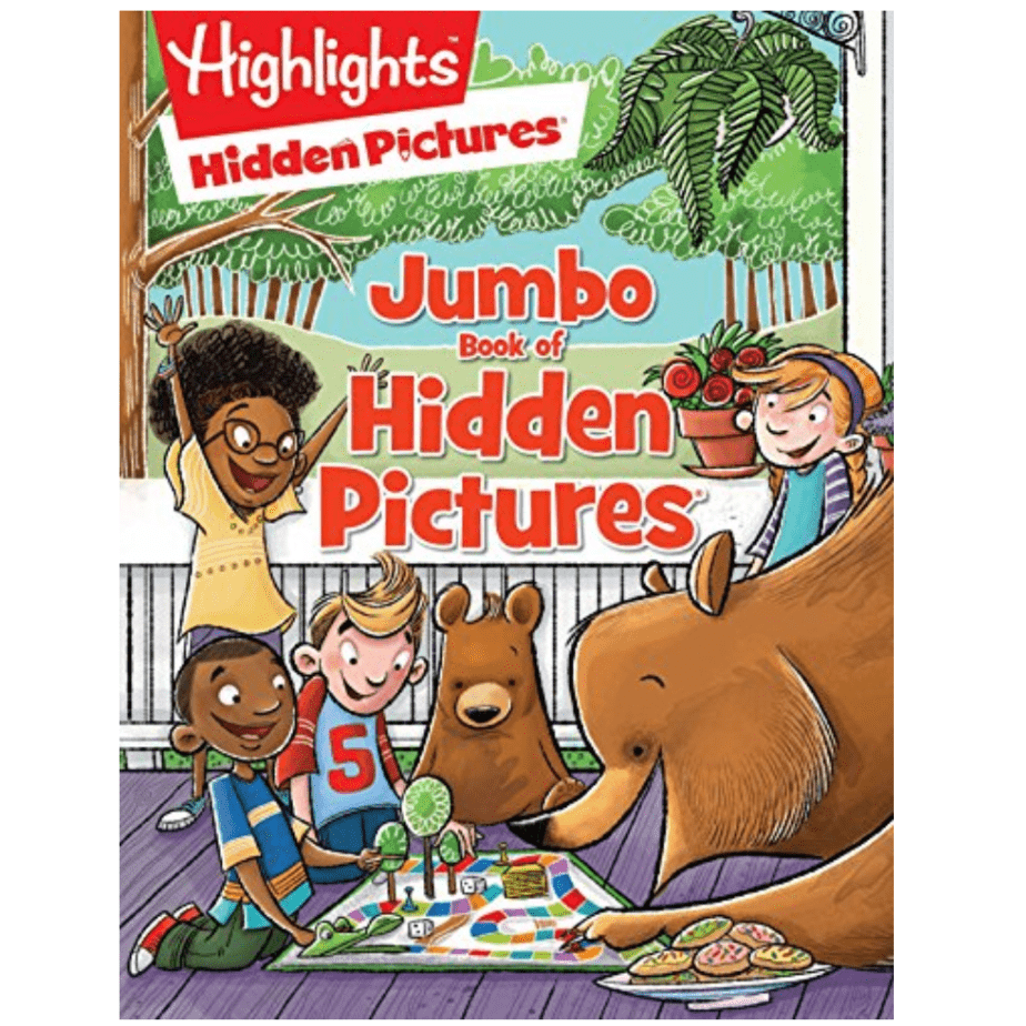 Highlights Jumbo Book of Hidden Pictures Now .01 (Was .99)