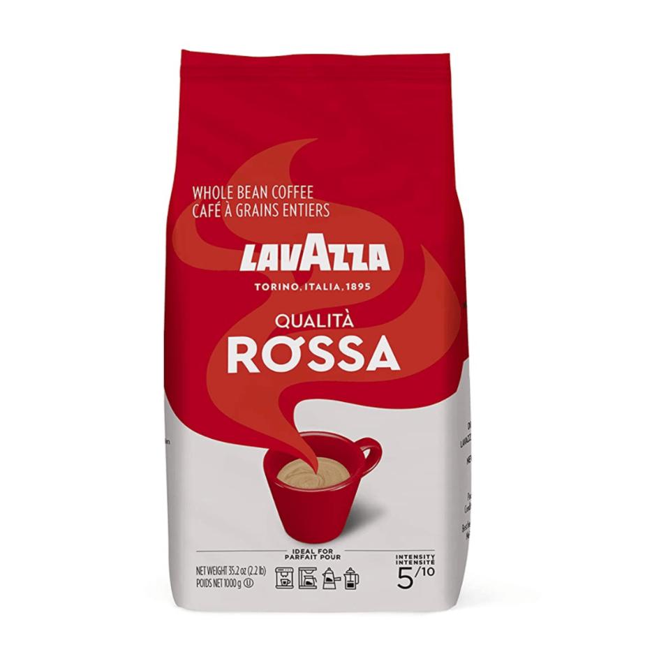Lavazza Qualita Rossa, Italian Coffee Beans Expresso, 2.2lb Now .38