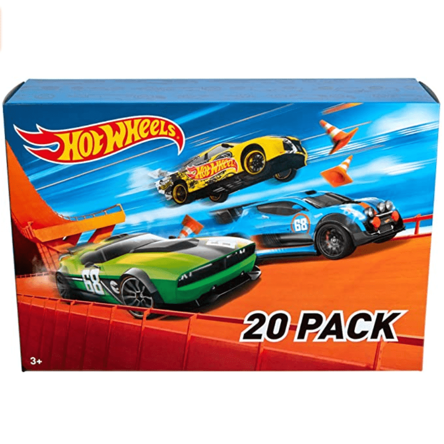 Hot Wheels 20 Cars Gift Pack Now .15