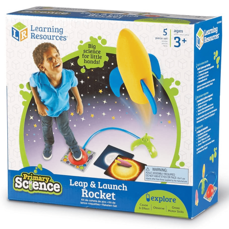 Learning Resources Primary Science Leap & Launch Rocket Now .65 (Was .99)