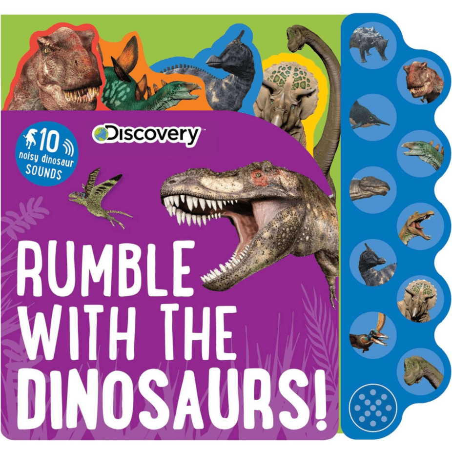 Discovery: Rumble with the Dinosaurs! 10-Button Sound Books Now .01