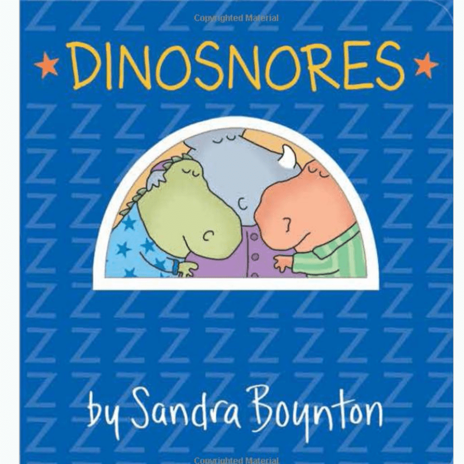 Dinosnores Board Book Now .50 (Was .95)