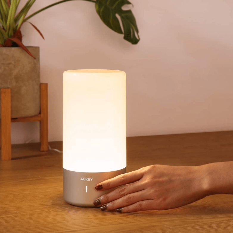 AUKEY Touch Sensor Color Changing Lamp Now .56