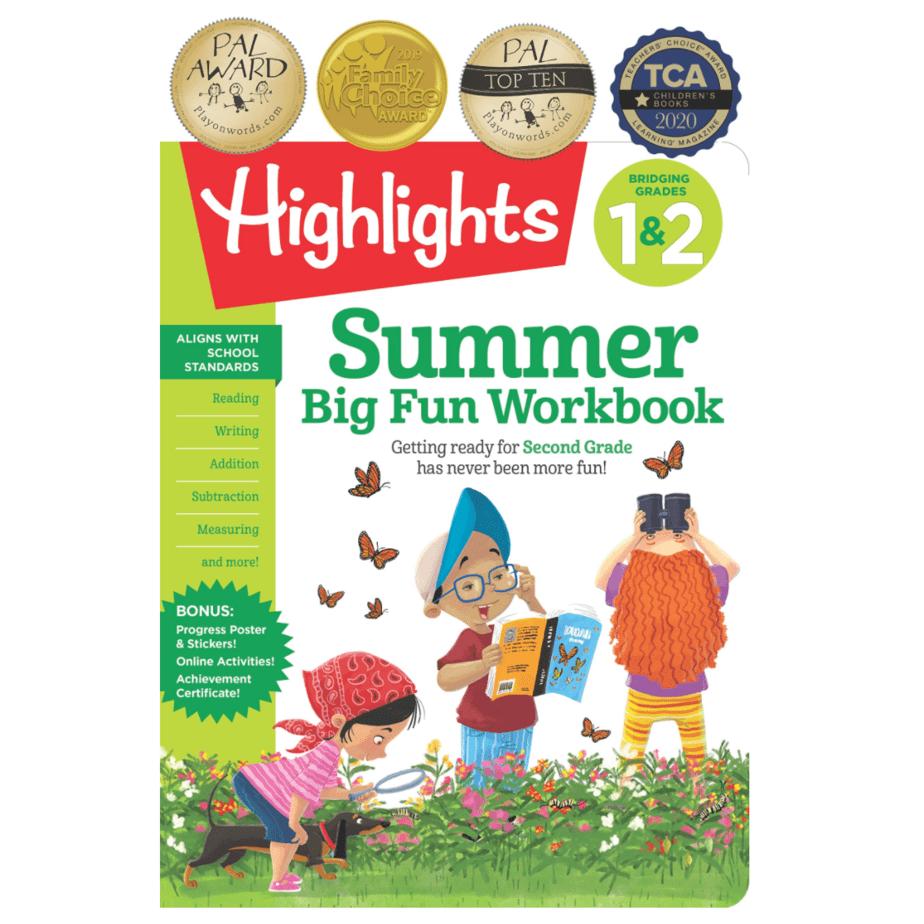 Highlights Summer Big Fun Workbook Now .67 (Was .99) + MORE