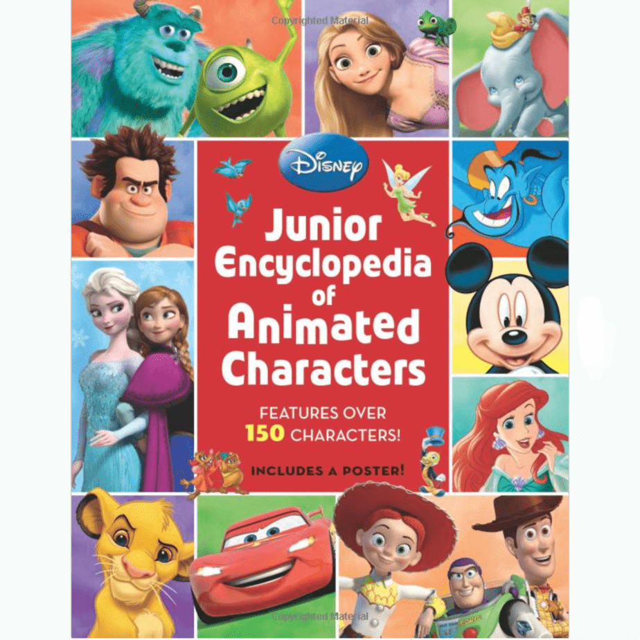 Junior Encyclopedia of Animated Characters Now .35 (Was .99)
