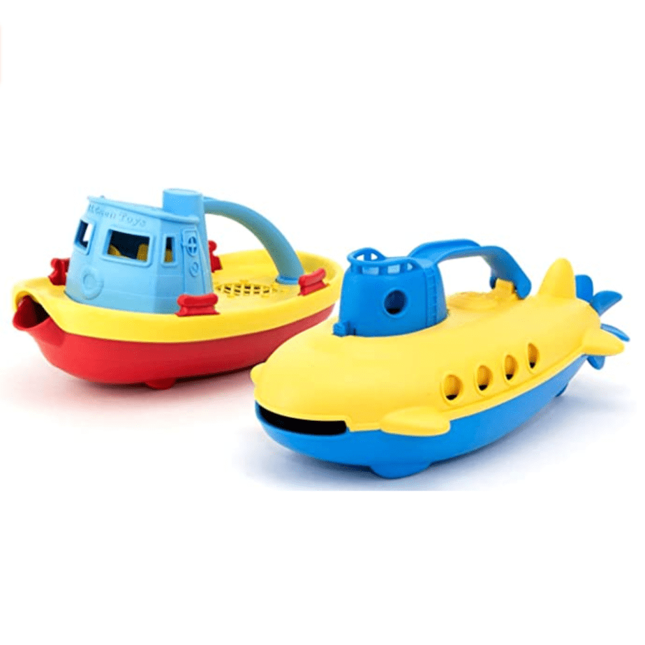 Green Toys Tug Boat & Submarine Combo Pack Now .96 (Was .99)