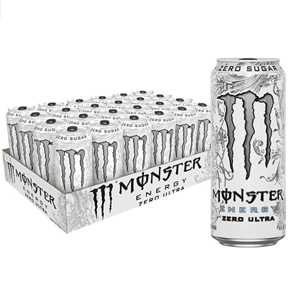 Monster Energy Zero Ultra, Sugar Free Energy Drink, 24-Pack Now .29