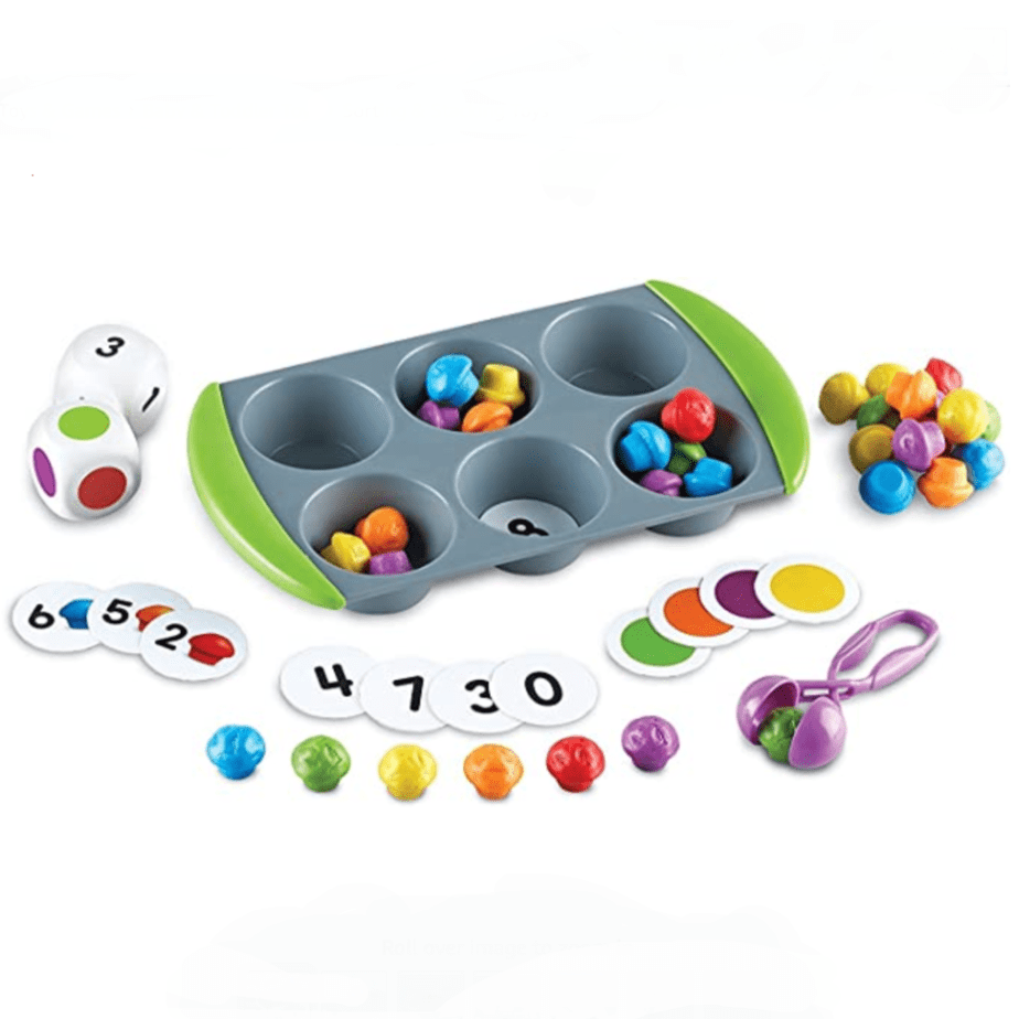 Learning Resources Mini Muffin Match Up Counting Toy Set Now .68 (Was .99)