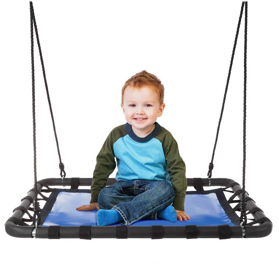 Hey! Play! - Platform Swing - Blue/Black .99 Shipped (Was 0)