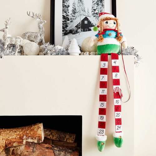Precious Moments Elf Christmas Countdown Calendar Now .73 (Was .99)