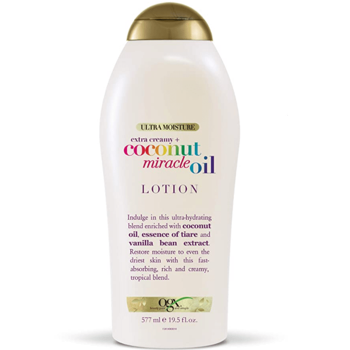 OGX Extra Creamy + Coconut Miracle Oil Ultra Moisture Lotion Now .98 (Was .99)