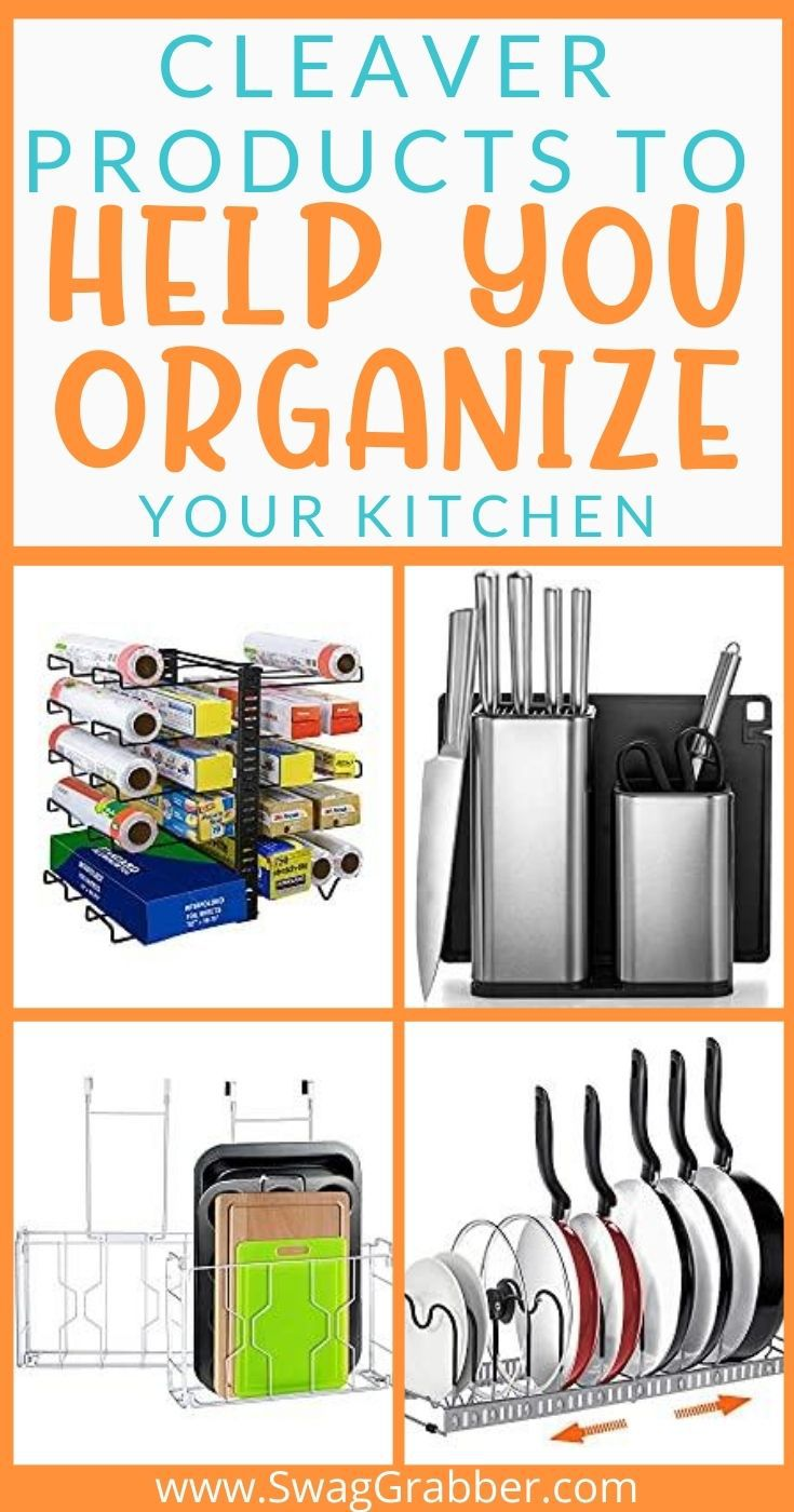Clever Products to Help You Organize Your Kitchen