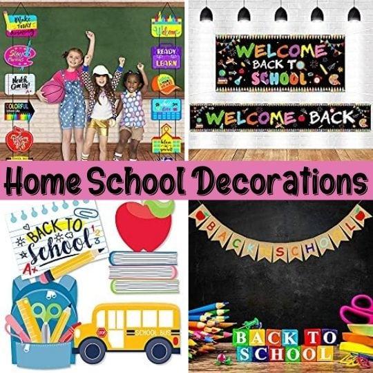Great Homeschool Home Decoration Ideas