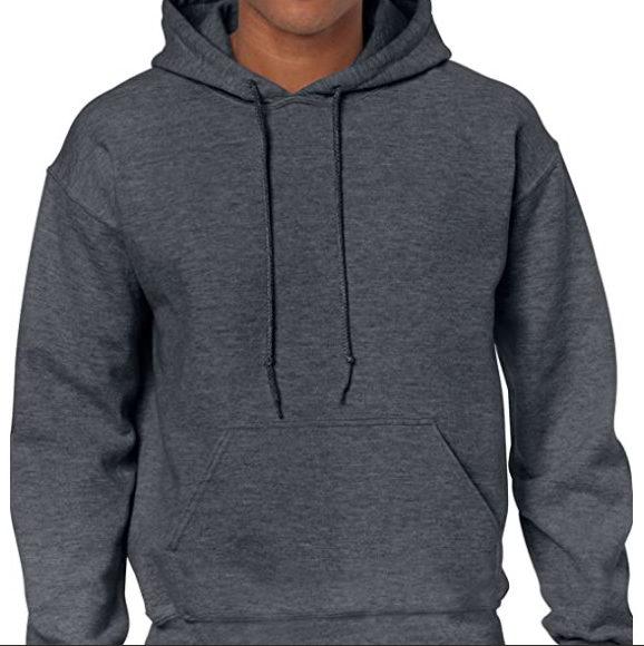 Gildan Men's Heavy Blend Fleece Hooded Sweatshirt Now .20 (Was .99)